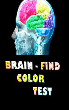 Brain - Finding Color Test poster