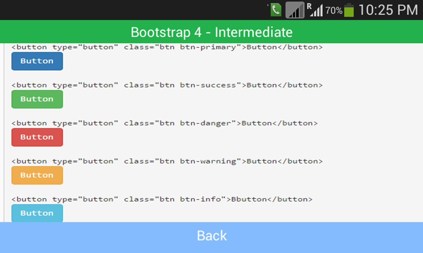 Bootstrap 4 Expert Level Demo for Android - APK Download