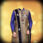 Man Sherwani Photo Suit icon
