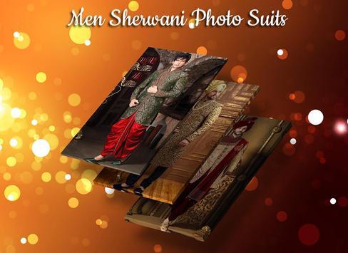 Man Sherwani Photo Suit screenshot 4
