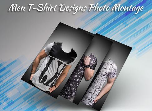 Men T-Shirt Designs Photo Suit poster