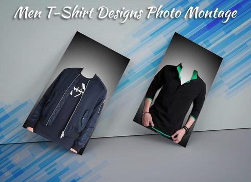 Men T-Shirt Designs Photo Suit screenshot 1