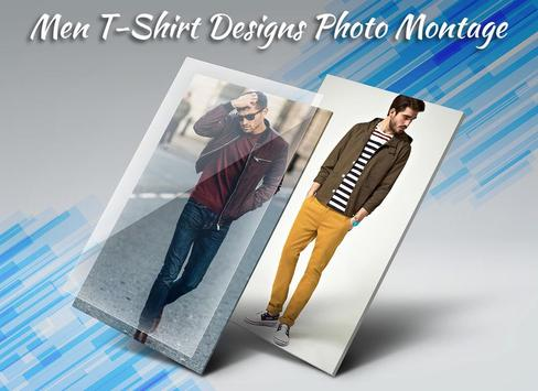 Men T-Shirt Designs Photo Suit screenshot 3