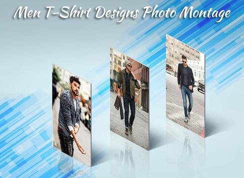 Men T-Shirt Designs Photo Suit screenshot 4