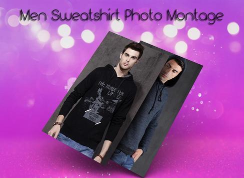 Men Sweat shirt Photo Suit screenshot 4