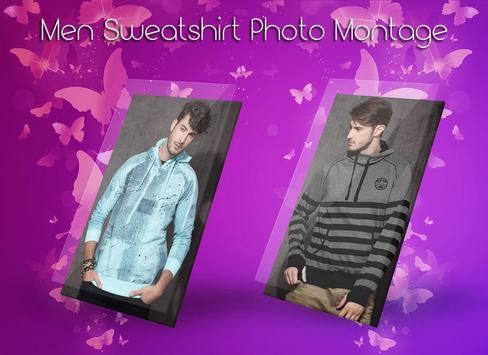 Men Sweat shirt Photo Suit screenshot 3