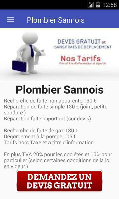 Plombier Sannois poster