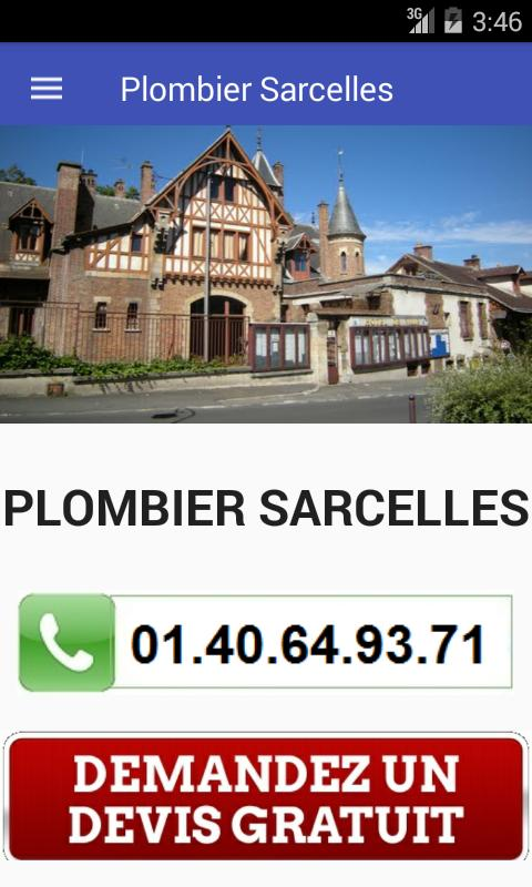 Plombier Sarcelles poster