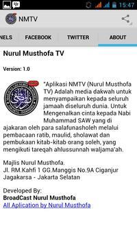 Nurul Musthofa TV apk screenshot