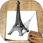 Learn to Draw 3D icon