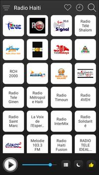 Haiti Radio Stations Online - Haiti FM AM Music poster
