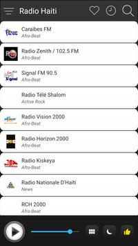 Haiti Radio Stations Online - Haiti FM AM Music screenshot 2