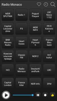 Monaco Radio Stations Online - Monaco FM AM Music screenshot 1