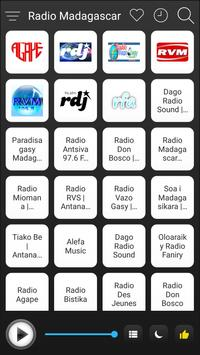 Madagascar Radio Station Online - Madagascar FM AM poster