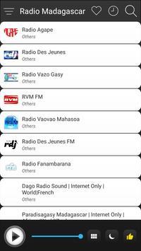Madagascar Radio Station Online - Madagascar FM AM screenshot 2