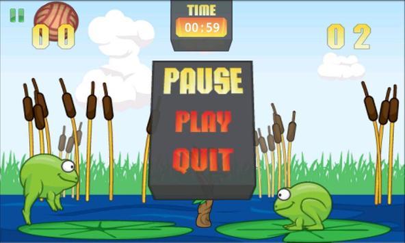 Frog Volley screenshot 3