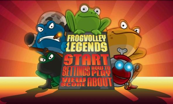 Frog Volley poster