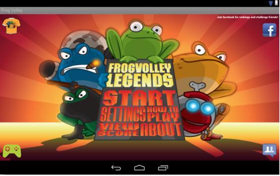 Frog Volley screenshot 6