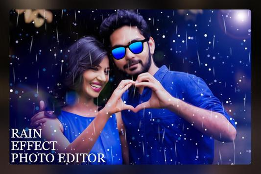 Rain Photo Editor poster