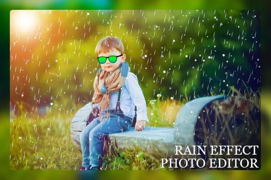 Rain Photo Editor screenshot 1