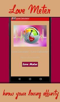 True Love Calculator poster
