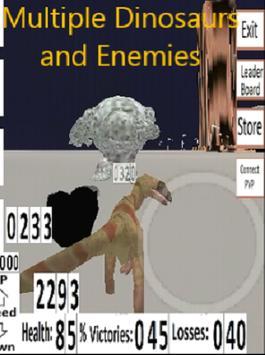 Dinosaur Team 3D Action Free screenshot 1