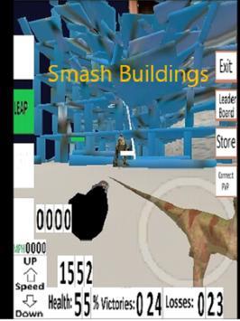 Dinosaur Team 3D Action Free screenshot 2