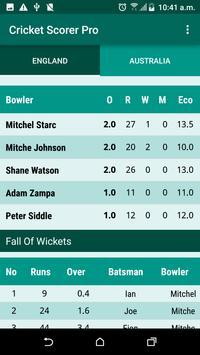Cricket Scorer screenshot 5