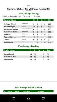 Cricket Scorer screenshot 6