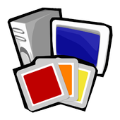 Free Clip Art, Gold edition icon