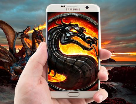 Fire Dragon Live Wallpaper screenshot 3