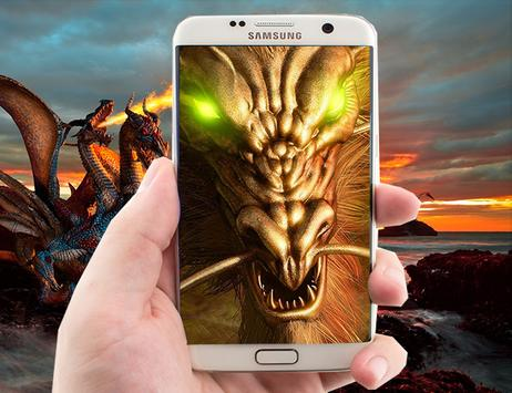 Fire Dragon Live Wallpaper screenshot 2