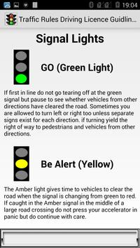 Traffic Rules Driving License Guidelines screenshot 3