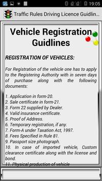 Traffic Rules Driving License Guidelines screenshot 21