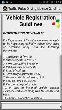 Traffic Rules Driving License Guidelines screenshot 26