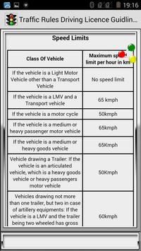 Traffic Rules Driving License Guidelines screenshot 28