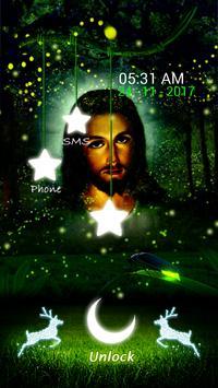 Jesus Fireflies LockScreen screenshot 8