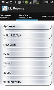 My Resume Maker For Android Apk Download