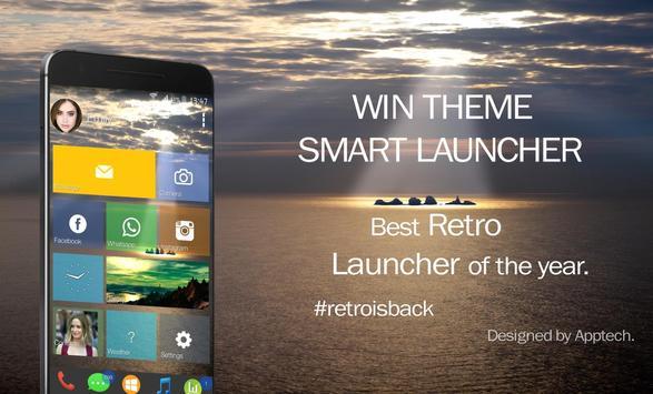 Win Theme Smart Launcher apk screenshot