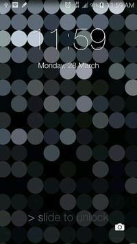 Lock Screen ilauncher 7 OS 9 apk screenshot