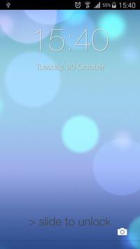 Lock Screen ilauncher 7 OS 9 poster