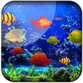 Fishes Live Wallpaper 2017 icon
