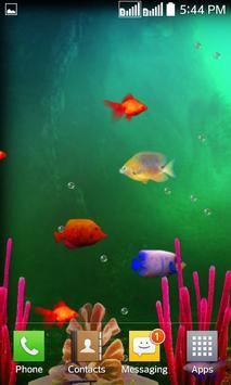 Fishes Live Wallpaper 2017 apk screenshot