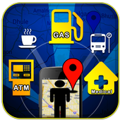 Find Nearby Places icon