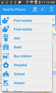 Find Nearby Places poster