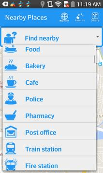 Find Nearby Places screenshot 1