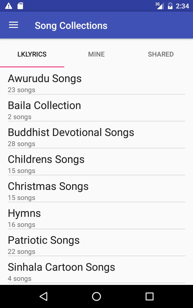 LK Lyrics for Android - APK Download
