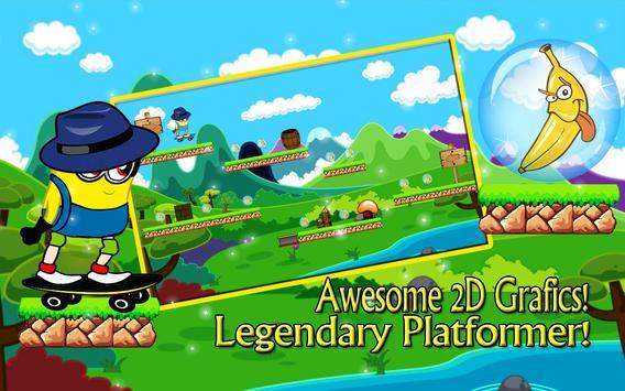 Adventure Banana Minion Jump poster