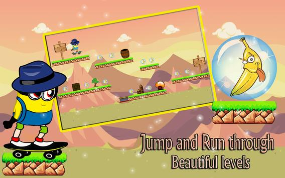 Adventure Banana Minion Jump apk screenshot