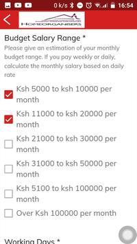 Kenya Nannies and Domestic Staff Placement apk screenshot
